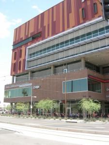 ASU's Walter Cronkite School of Journalism in downtown Phoenix