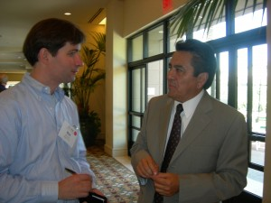 Georgia Trend's Ben Young interviews Daniel Ortega on LINK trip