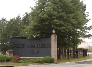 Fort McPherson Main Gate