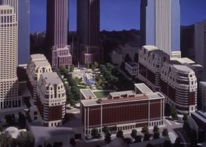 Close up of proposed GLG Park Plaza development. Courtesy of Joe Rabun.