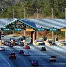 Ga. 400 toll booth