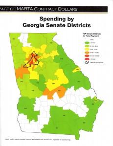Ga. Senate districts