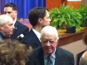 Jason and Jimmy Carter