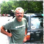 Ron Brown, shuttle driver in north Georgia