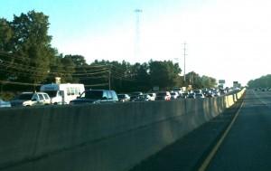 Inbound I-85