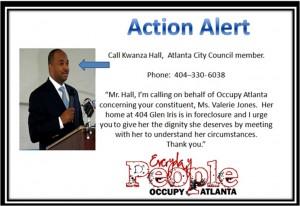 Kwanza Hall via Occupy Atlanta
