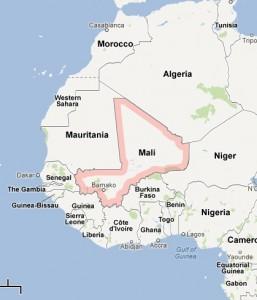 Map, Mali