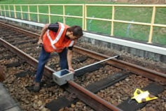 Measuring track