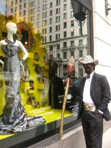 Gregory Warnack, a.k.a. Mr. Imagination, in Manhattan