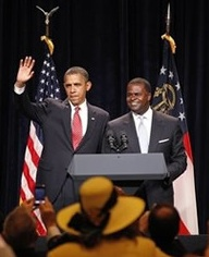 Obama and Reed