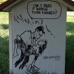 Little Free Library by Mike Luckovich