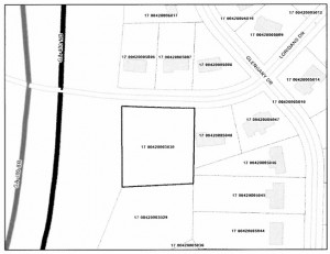 Proposed park on Loridans Drive