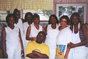 The staff at the Sea View Inn