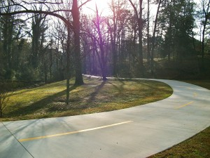 Winding path envisioned for Buckhead trail.