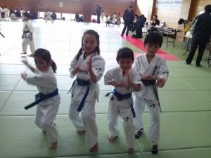Nakagawa children, friends of Buddy Carlyle's family