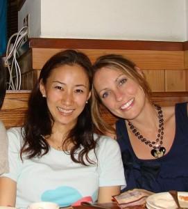 Jessica Carlyle and Akane Nakagawa