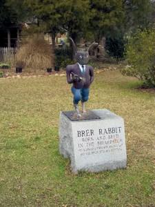 Brer Rabbit statue in Eatonton. Credit: Putnam County Sheriff's Department