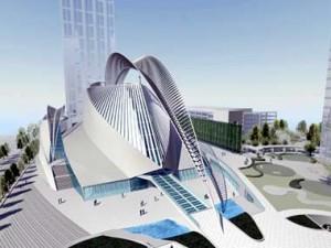 Calatrava's design for Atlanta's new symphony hall