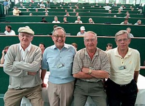 Furman Bisher and Masters sportswriting legends