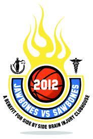 Jawbones vs. Sawbones logo
