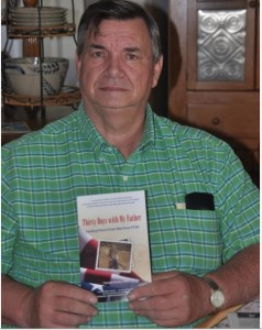 Delmar Presley with his daughter's book (Family photo).