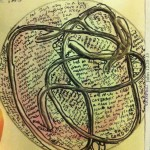 String mandala, March 25. By Michelle Hiskey