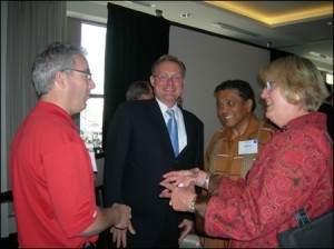Ted Mondale meets with Atlanta's LINK delegation