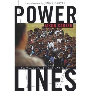 """""""Power Lines"""" is a memoir of the Peace Corps in South Africa, written by Jason Carter"""