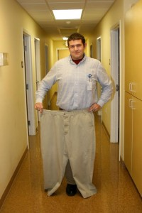 Weight loss trims man from size 52 waist to size 34
