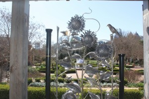 The Sunflower Gate is a signature piece for Andrew T. Crawford